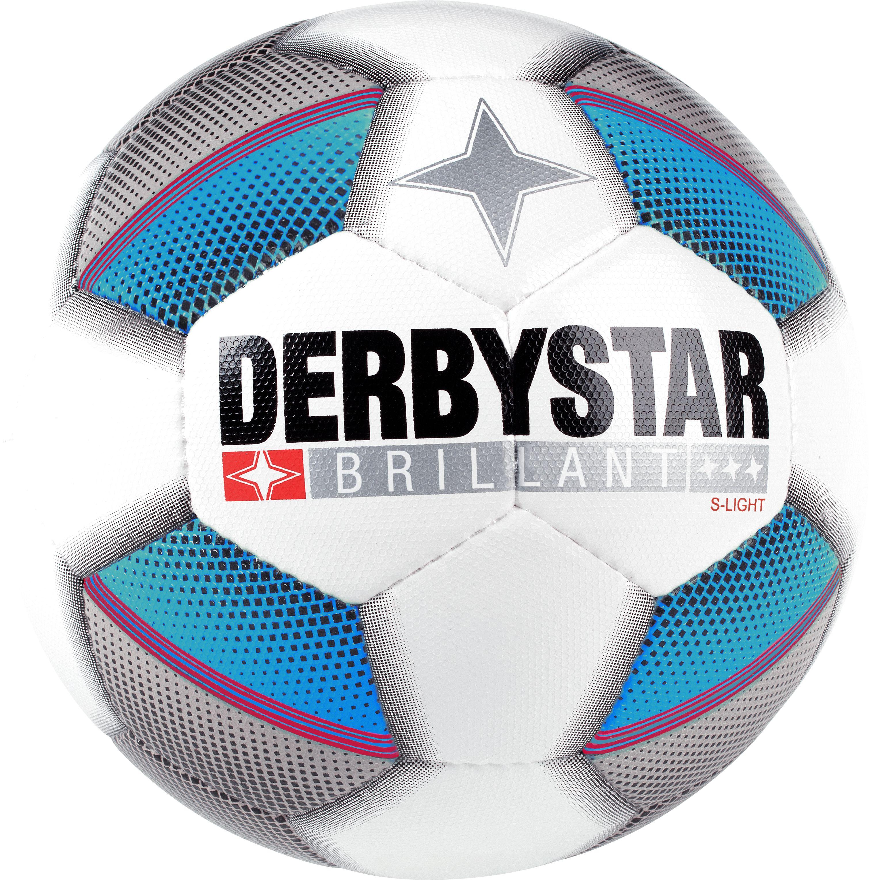 Derbystar Fußball Bundesliga Brillant Replica S-Light 290g Größe 4 Jugendball